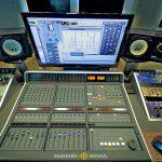 Equipos audio estudio producción ingeniería musical