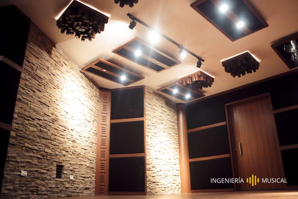 ingeniería musical acondicionamiento acústico