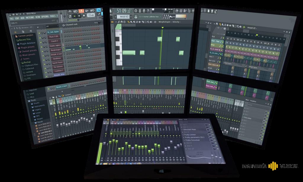 fl studio daw secuenciador ingeniería musical
