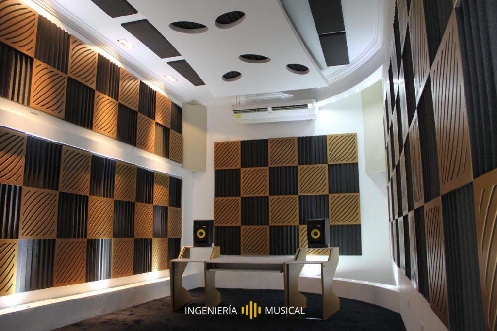 recinto acondicionado acústicamente ingenieria acustica musical