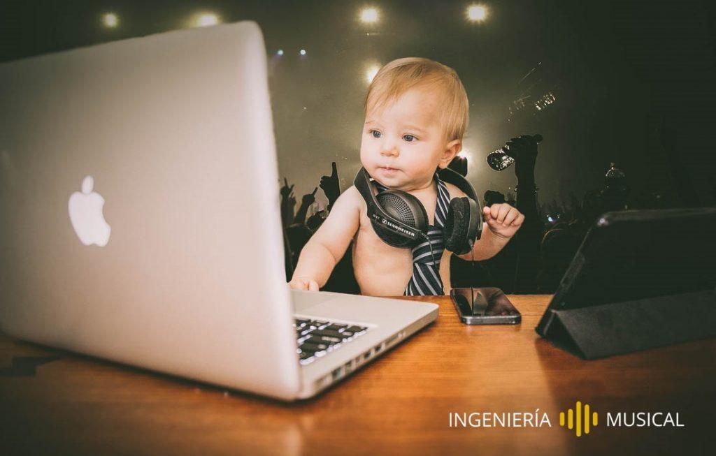 baby dj ingenieria musical