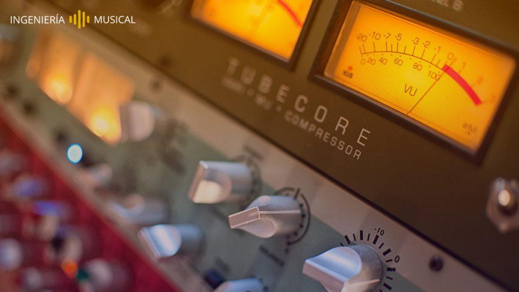 masterización ingeniería musical compresor