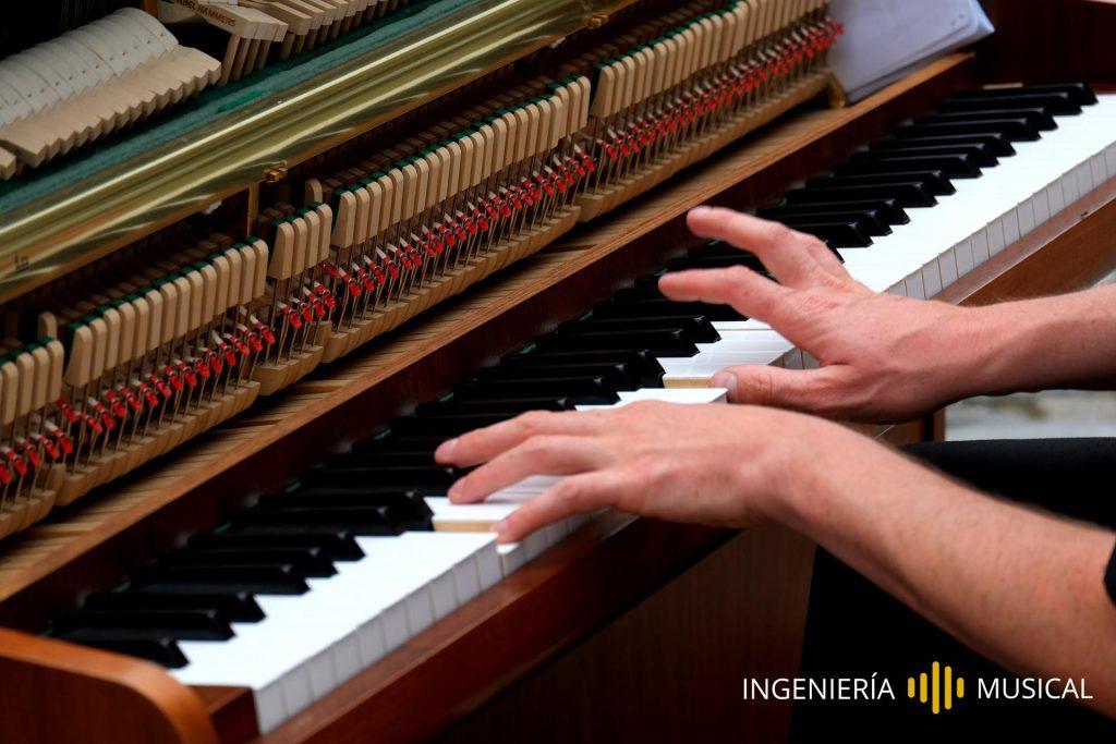 piano composición ingenieria producción musical