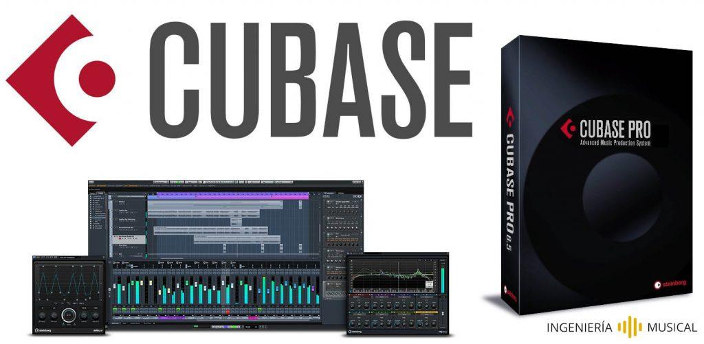 cubase interfaz logo ingenieria musical