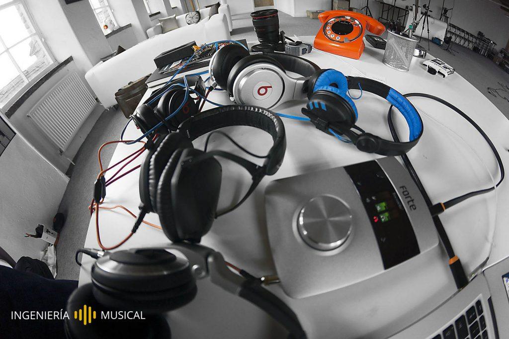 dispisitivos de audio ingenieria musical sonido