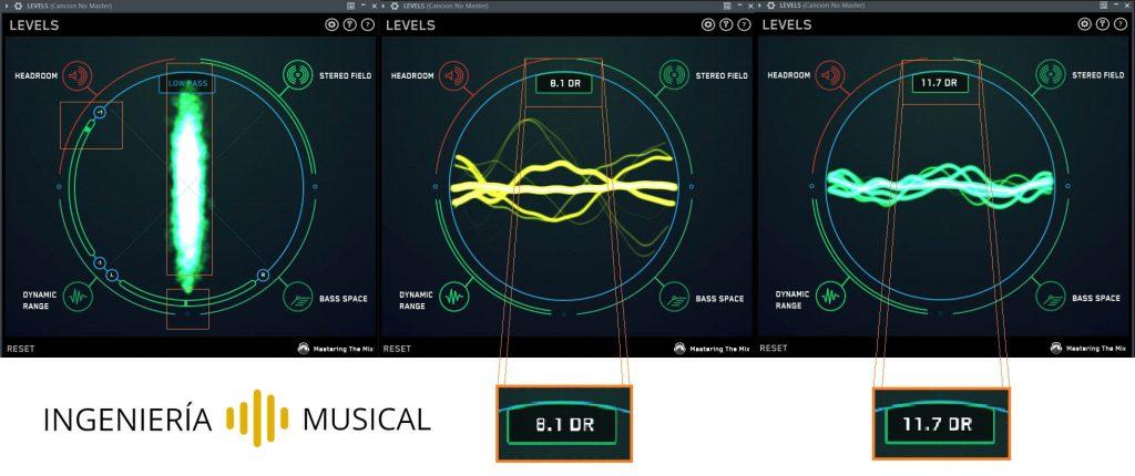 levels plugin analisis cancion ingenieria musical