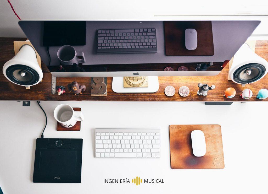 ordenadores equipos audio ingenieria musical