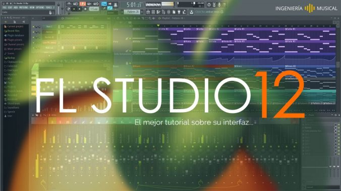 fl studio 12 interfaz tutorial ingenieria musical