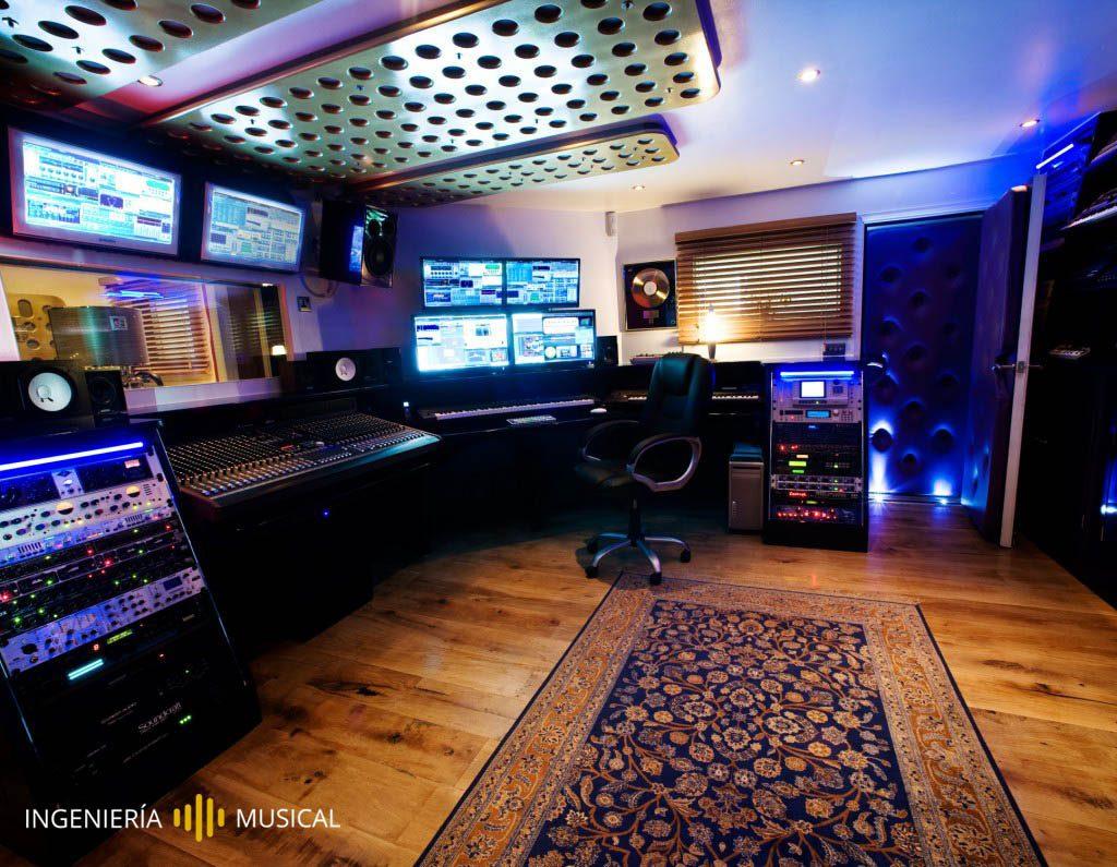 estudio produccion no paralelepipedo ingenieria musical
