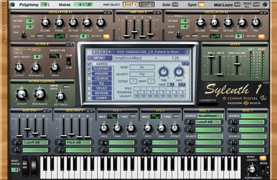 sylenth1 synth ingenieria musical software de audio