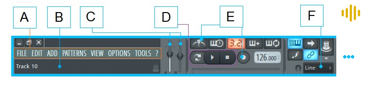 tool bar fl studio 12 ingenieria musical