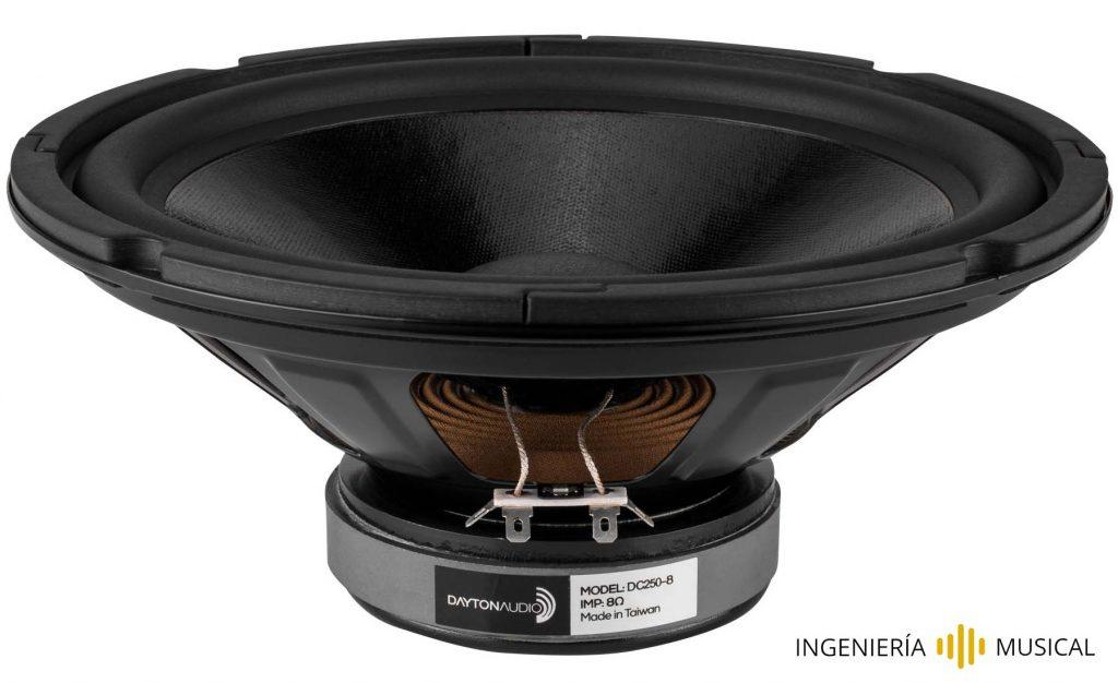 woofer ingenieria musical monitores de audio