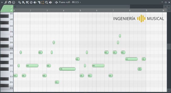 piano roll ingenieria musical