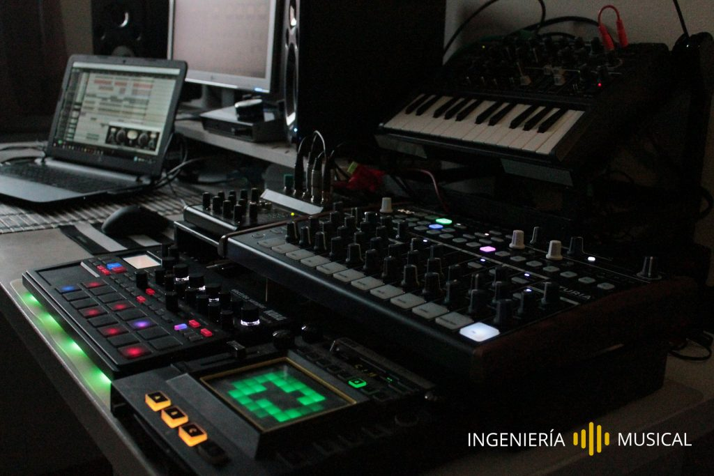 muestre creativo sampler ingenieria musical