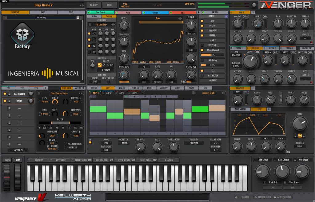 mejores plugins sintetizadores ingenieria musical avenger efectos de sonido
