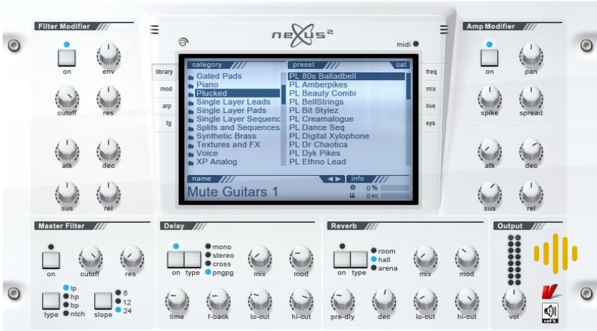 Nexus 2 mejores plugins sintetizadores ingenieria musical efectos de sonido
