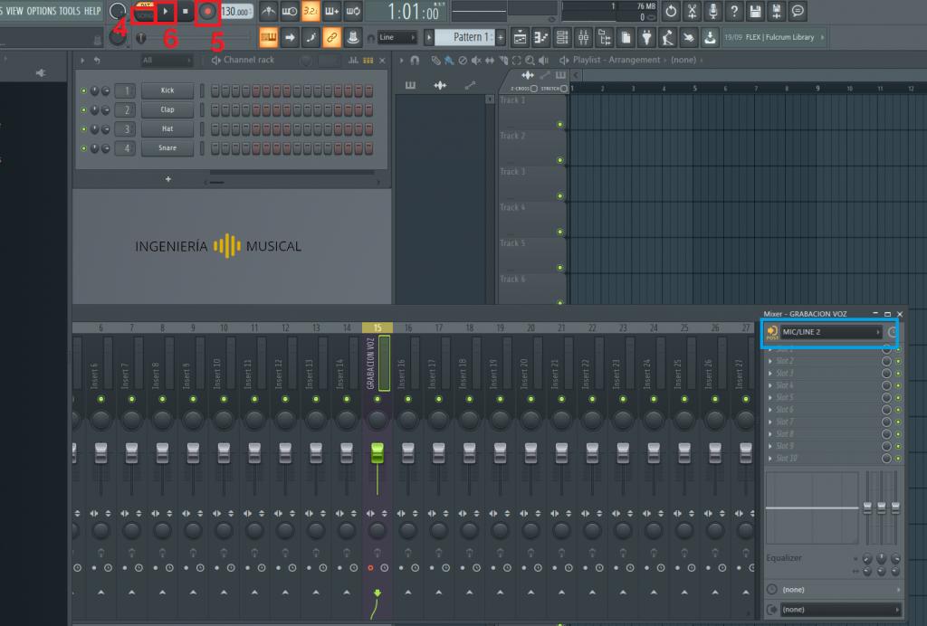 grabacion de voz con fl studio 20 tutorial